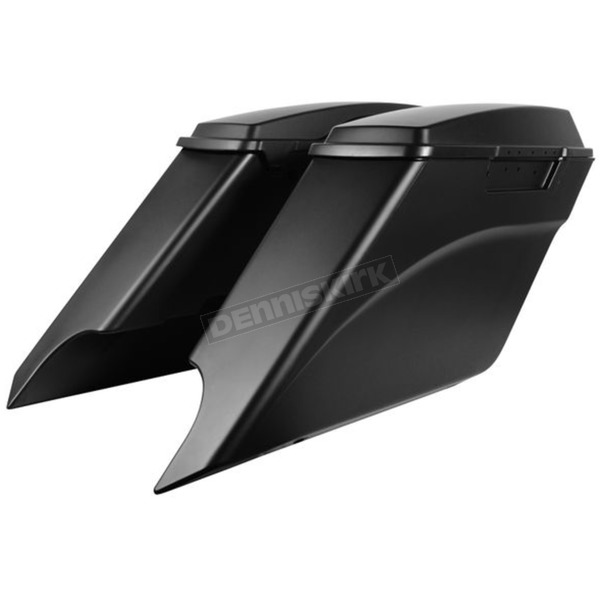 HogWorkz Unpainted Drop-Out Stretched Saddlebags - HW156001