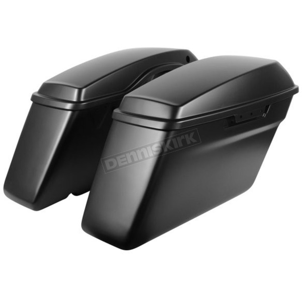HogWorkz Denim Black Standard Saddlebags - HW151107