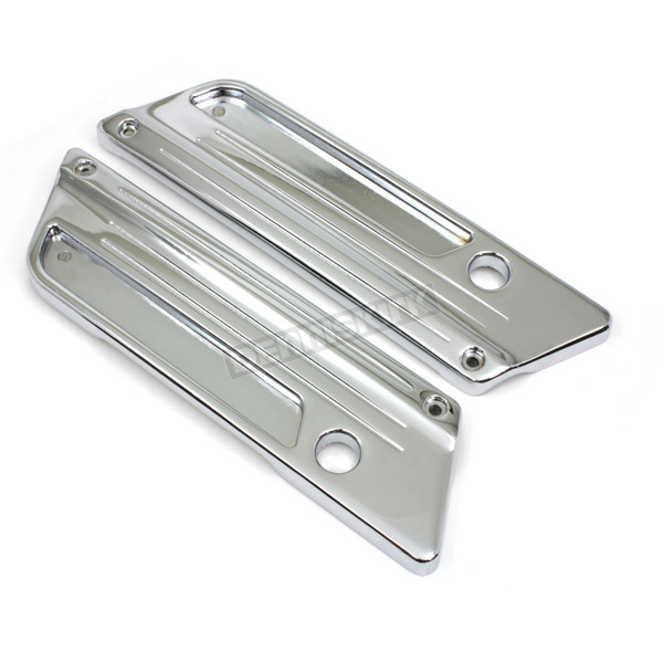 Wyatt Gatling Chrome Saddlebag Face Plates - 42-1064