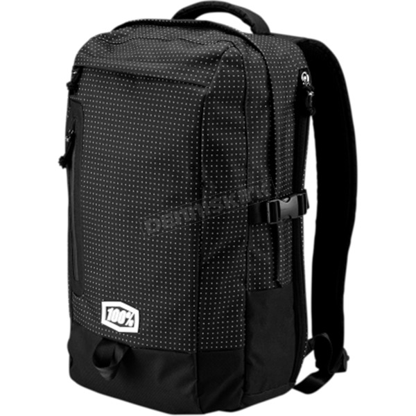 100% Positive Black Transit Backpack - 01003-247-01