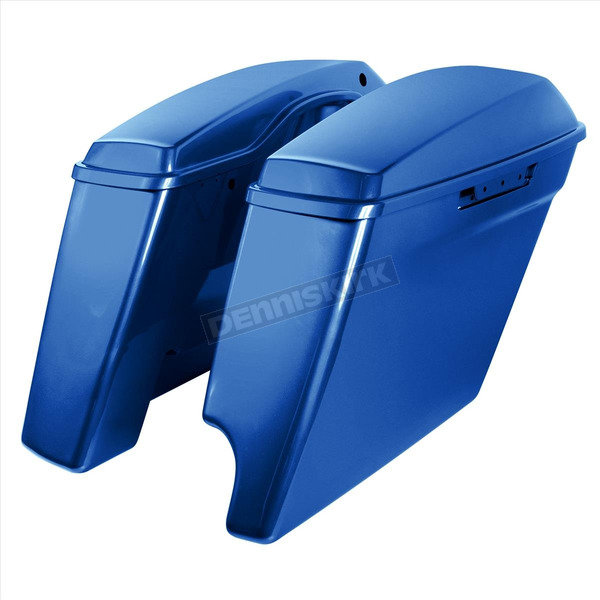 Superior Blue 2-into-1 4 in. Stretched Saddlebags - HW151206