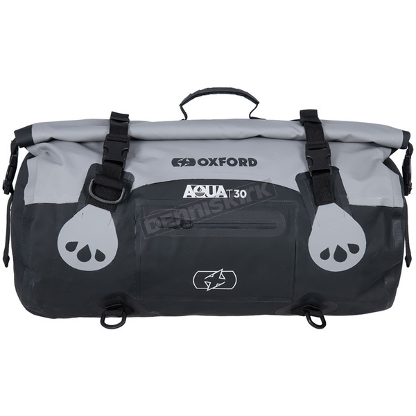 Gray/Black Aqua-T 30 Liter Weatherproof Roll Bag - OL481