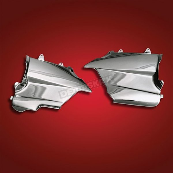 Chrome Engine Lower Side Covers - 2-415