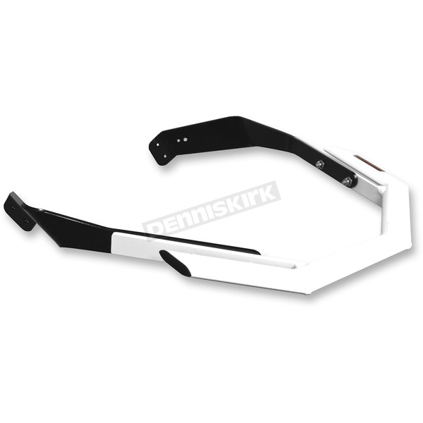 StraightLine Performance White Aluminum Sport Series Front Bumper - 183-227-WHIT
