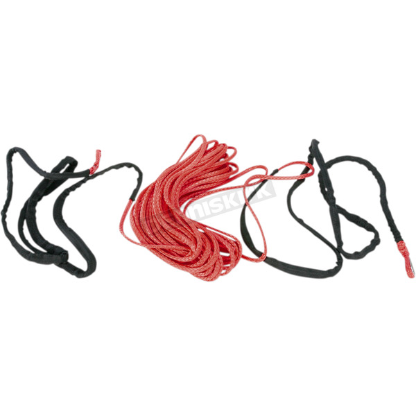 Red 3/16 in. x 50 ft. Synthetic Winch Cable - 4505-0612