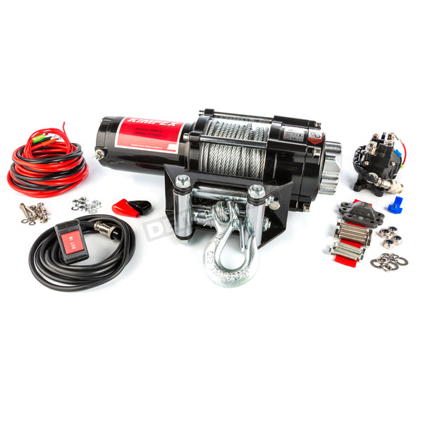 3500 lb. Winch w/Wire Rope - 458211