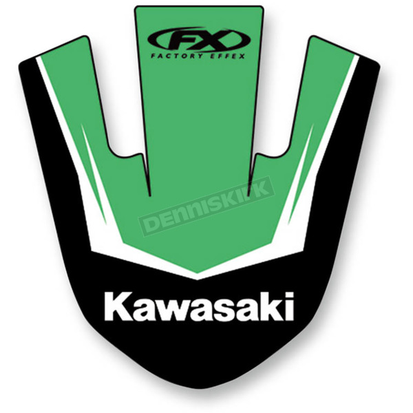 Factory Effex Kawasaki Front Fender Graphic Kit - 19-30114