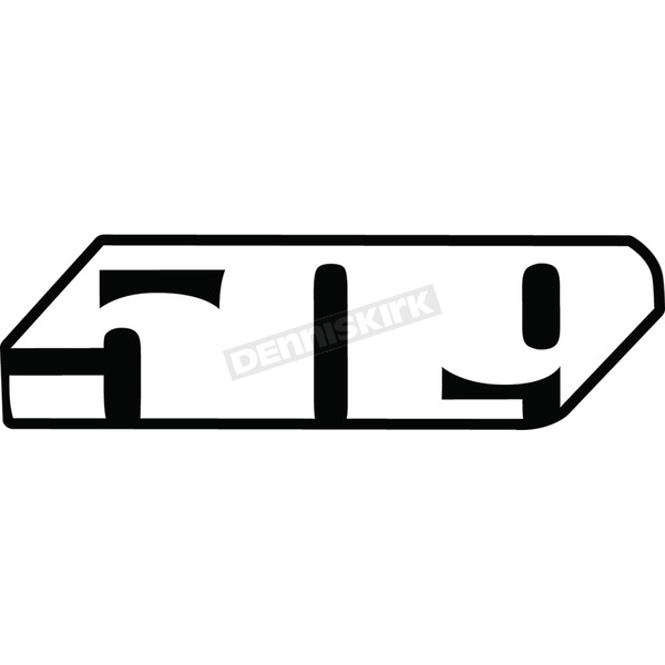 24 in. Slash Logo Sticker - F13000100-024-002