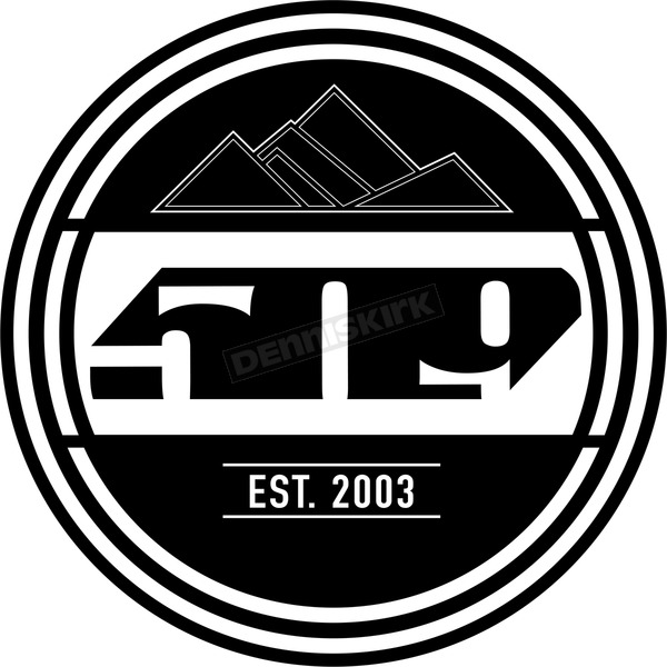 8 in. EST. Logo Stickers - F13000200-008-001