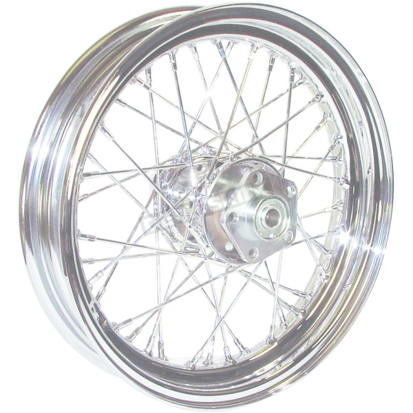 V-Factor Chrome 16x3.00 40 Spoke Front/Rear Wheel - 51642