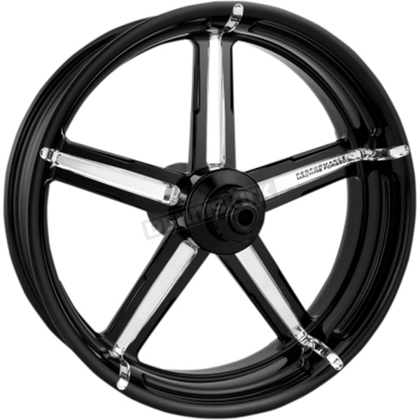 Performance Machine Rear Platinum Cut 18 x 5.5 Formula One-Piece Aluminum Wheel - 1269-7814R-FRM-BMP