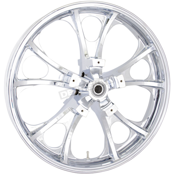 Coastal Moto Front Chrome 21 x 3.5 Largo 3D Wheel for Non-ABS - 0201-2206