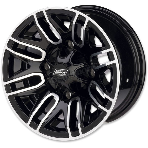 Front Gloss Black 112X 12x7 Wheel - 0230-0874