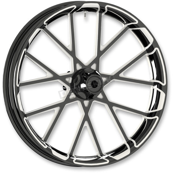 Arlen Ness Black  Procross 23x3.5 Forged Aluminum Front Wheel (Non-ABS) - 10101-205-6000