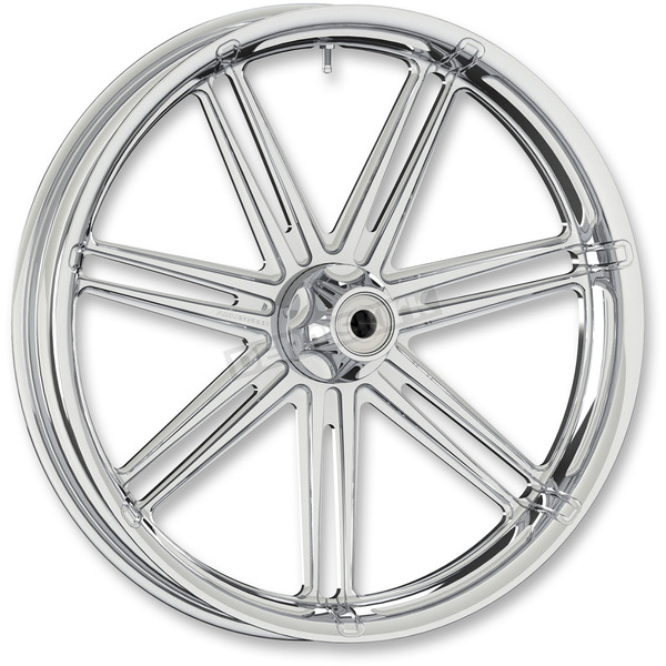 Arlen Ness Chrome 7  Valve 26x3.5 Forged Aluminum Front Wheel (Non-ABS) - 10302-206-6000