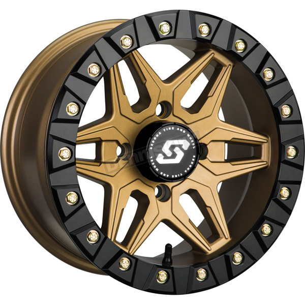 Bronze Front/Rear Split 6 Beadlock 14x7 Wheel - A72BZ-47011-61S