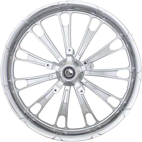 Front Chrome 21 in. x 3.25 in. Forged Fuel Aluminum Wheel for Non-ABS - 1502-FUL-213-CH