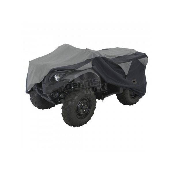 Classic Accessories Black/Gray Large ATV Deluxe Storage Cover - 15-061-043804-0