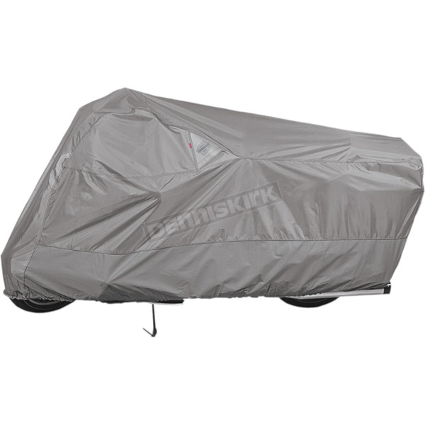 Dowco Gray Weatherall Plus Motorcycle Cover for Small/Medium Cruisers  - 51223-07