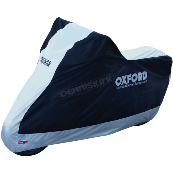 Black/Silver Aquatex Motorcycle Cover - CV202