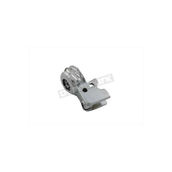 Chrome Clutch Lever Bracket w/Clamp - 38608-96