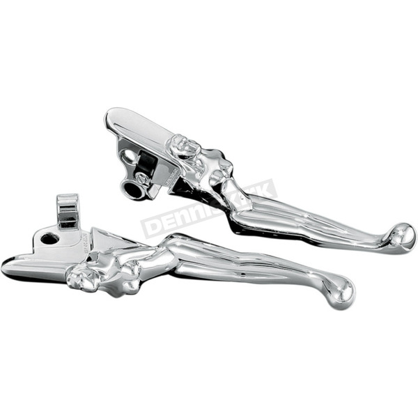 Kuryakyn Silhouette Levers for Models w/Cable-Operated Clutch - 1055