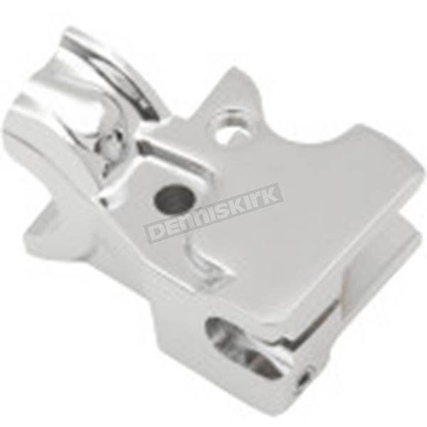 Drag Specialties Chrome Clutch Lever Bracket - 0615-0266
