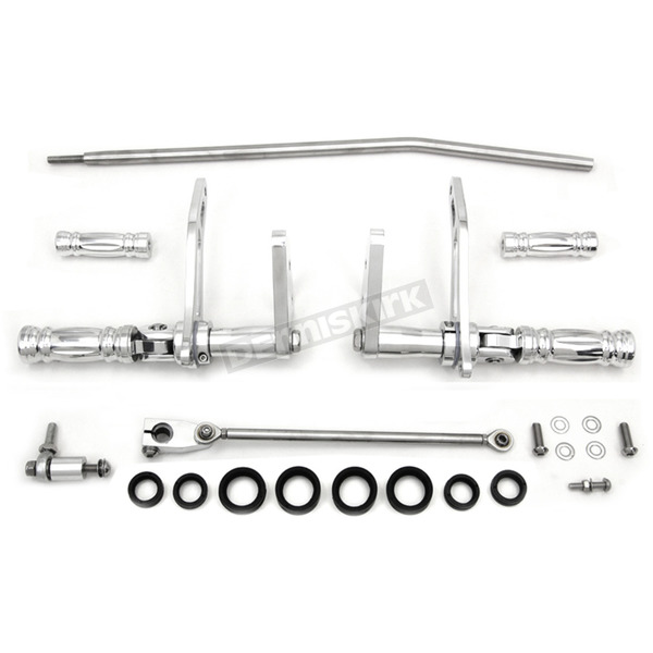 V-Twin Manufacturing Polished Forward Control Kit - 22-0779
