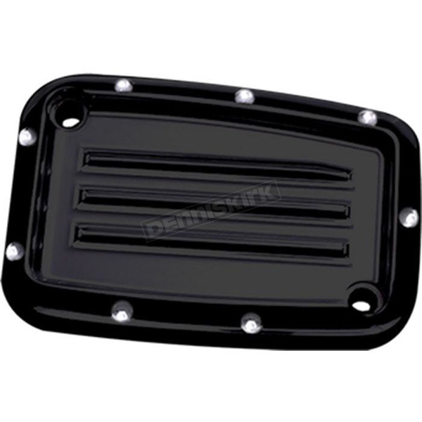Covingtons Customs Black Dimpled Clutch Master Cylinder Cover - C1178-B