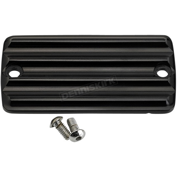 Joker Machine Black Finned Front Master Cylinder Cover - 921115-1