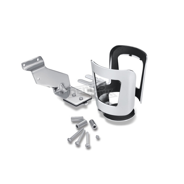 Show Chrome Accessories Chrome Beverage Holder - 41-165