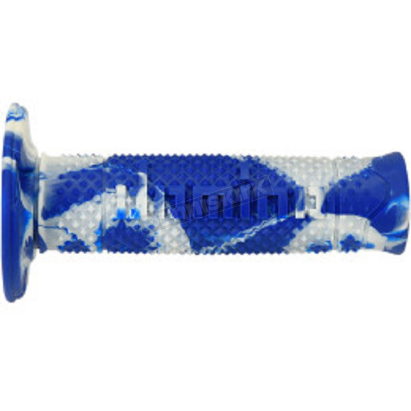 G2 Ergonomics Blue/White Snake Racing Grips - A26041C92