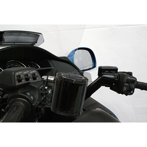 Rivco Black Handlebar Switch Mounted Cup Holder - CH800