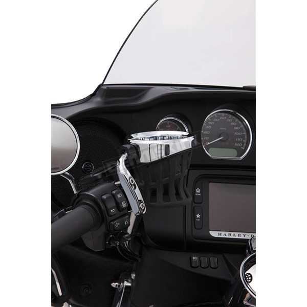 Drink Holder w/ Chrome Perch Mount - 50410