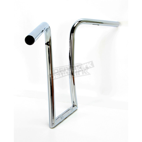Nash Motorcycle Co. Chrome 14 in. Midget Gimp Handlebar - 14MCHDKT