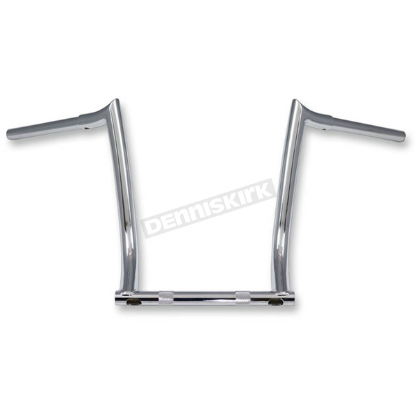 Paul Yaffe Chrome 10 in. Bagger Monkey Bar - MBB125-VM-10-C