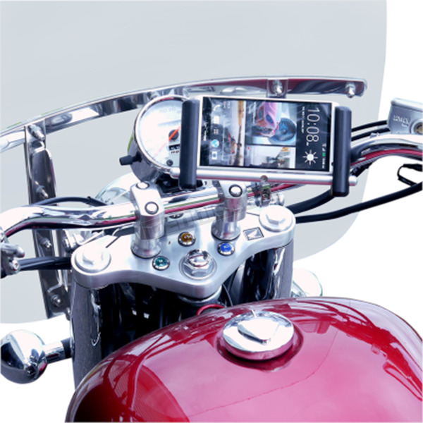 Leader Chrome Urban Slide  Phone/Tablet/Device Mount for 1 in. to 1 1/4 in. bars - ESL-MFCH-L