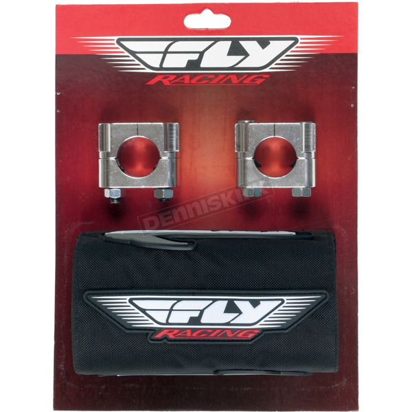Fly Racing Oversized Handlebar Universal Clamp and Pad Kit - SR-25