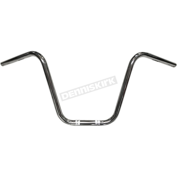 Nash Motorcycle Co. Chrome 14 in. Just Some Apes Handlebars - 14JSACHDKT
