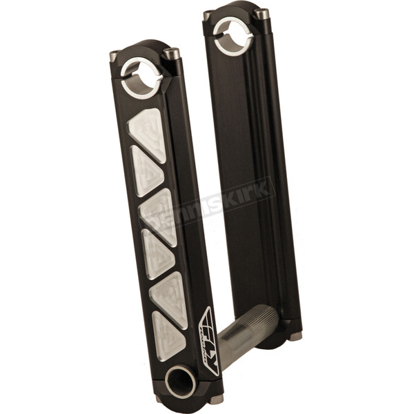 Fly Racing Black 7 in. Fixed Height Tech Risers - SR-35-7