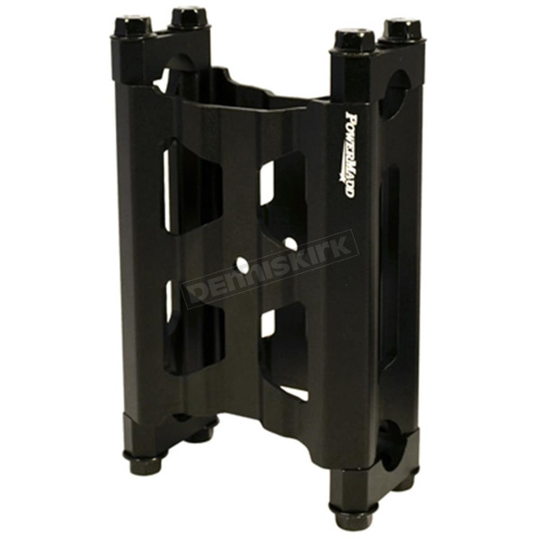 Black 5 in. Wide Pivot riser w/Bolts and Clamps - 45850