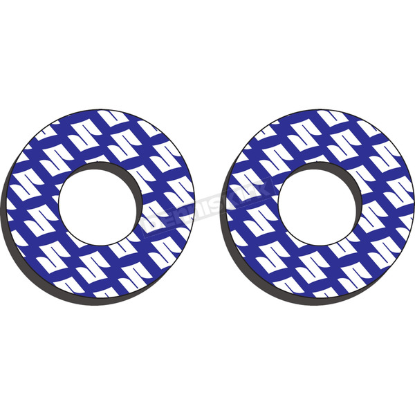 Factory Effex Blue/White Moto Grip Donuts - 22-67400