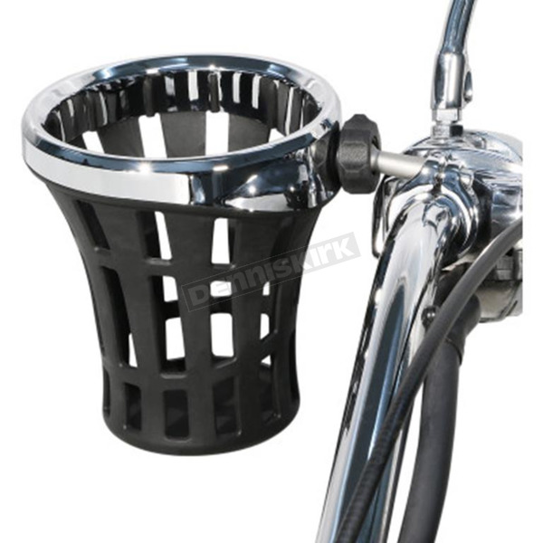 Chrome Big Ass Drink Holder w/Mount - 50814