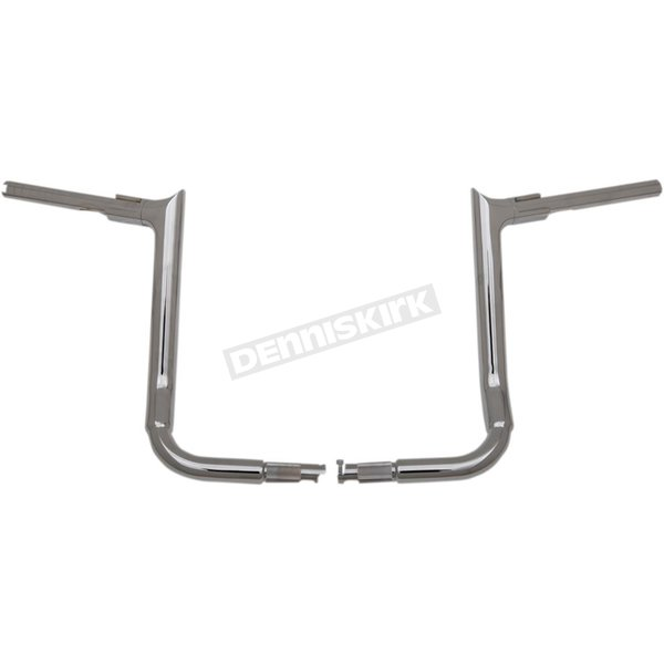 1 1/2 in. EZ Install Pointed Top 14 in. Chrome Handlebar - 805014