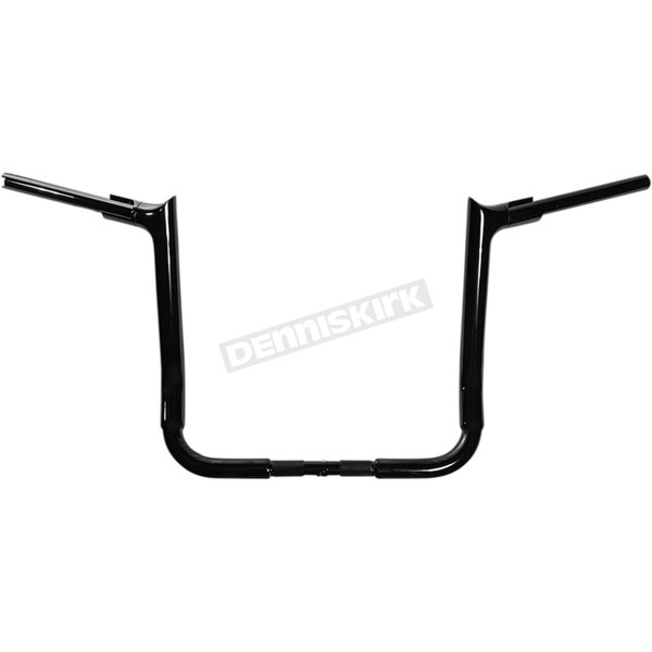 1 1/2 in. EZ Install Pointed Top 14 in. Black Handlebar - 805014-B