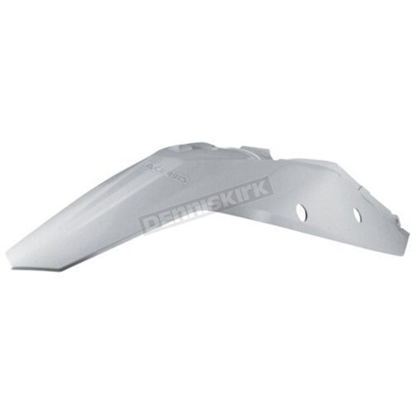 Acerbis White Replacement Rear Fender - 2082000002