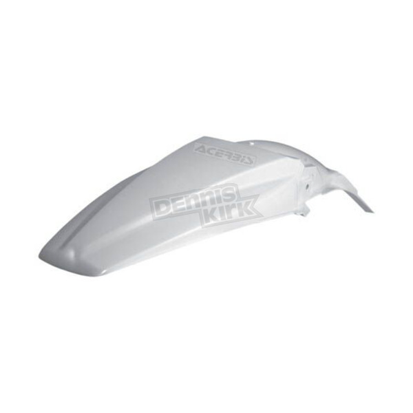 Acerbis White Replacement Rear Fender - 2141700002