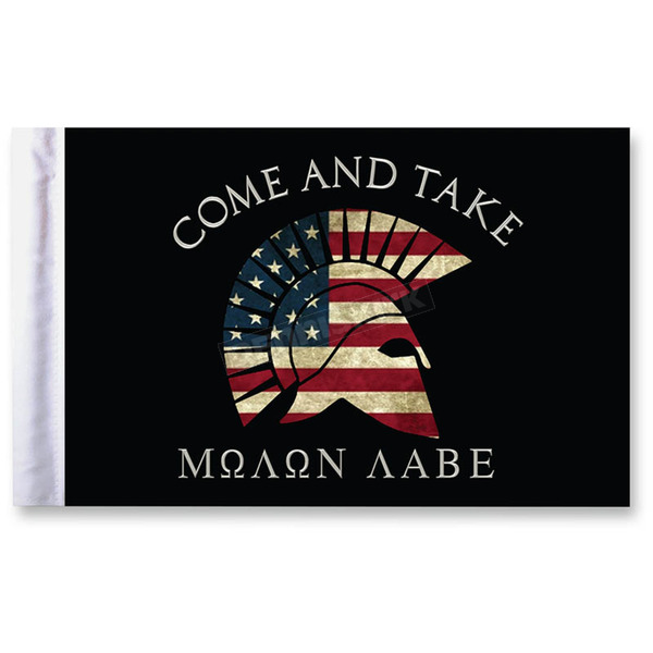 10 in. x 15  in. Come and Take Flag - FLG-MNLB15