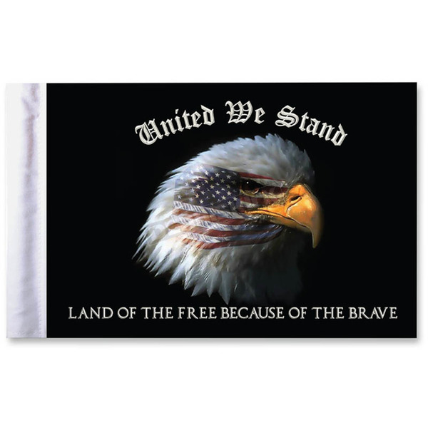 Pro Pad 10  in. x 15 in. United We Stand Flag - FLG-UWS15