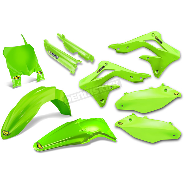 Cycra Complete Green Powerflow Body Kit - 1CYC-9308-72